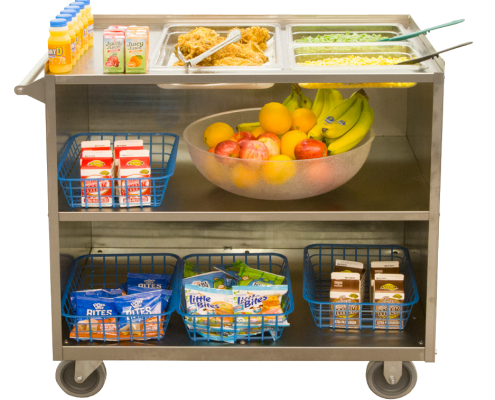 SECOSelect® Mobile Food Distribution Carts